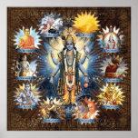 Los diez avatares de señor Vishnu - poster