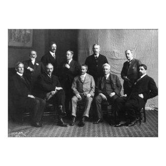 Los diez pintores impresionistas americanos fotografía