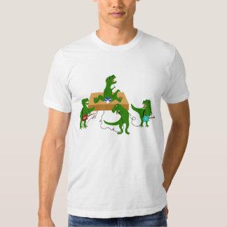 Los dinosaurios no oscilan remeras