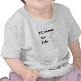 Los dinosaurios son falsificación camisetas