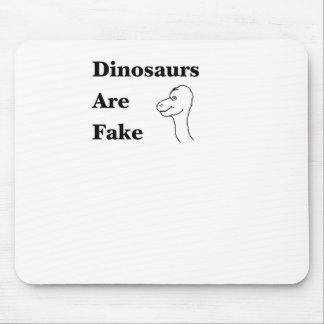Los dinosaurios son falsificación alfombrilla de ratón