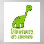 Los dinosaurios son impresionantes posters
