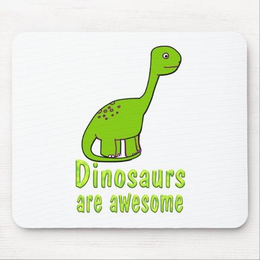 Los dinosaurios son impresionantes alfombrilla de ratones
