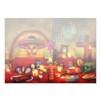 Los dios muertos - Rembering loved ones Personalized Invite
