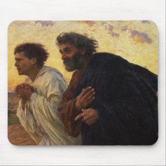 Los discípulos Peter y funcionamiento de Juan Alfombrilla De Ratones