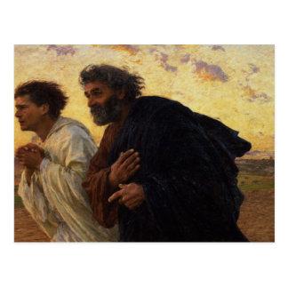 Los discípulos Peter y funcionamiento de Juan Postales