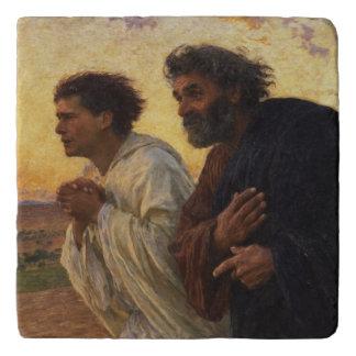 Los discípulos Peter y funcionamiento de Juan Salvamanteles