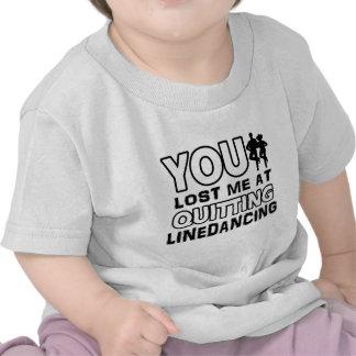 Los diseños de Linedancing harán un gran artículo  Camisetas