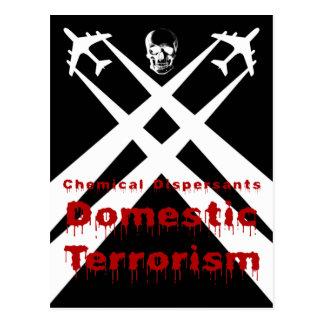 Los dispersores químicos son terrorismo nacional postal