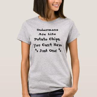 Los Dobermans son como la camisa de las patatas