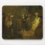 Los doce años Jesús delante del Mouse Pad