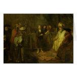Los doce años Jesús delante del Tarjeta De Felicitación