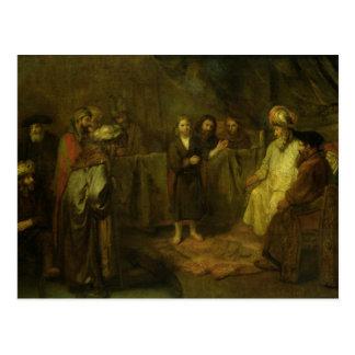 Los doce años Jesús delante del Postales