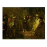 Los doce años Jesús delante del Tarjetas Postales