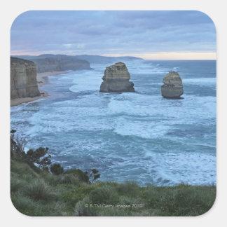 Los doce apóstoles, gran camino del océano colcomanias cuadradas personalizadas