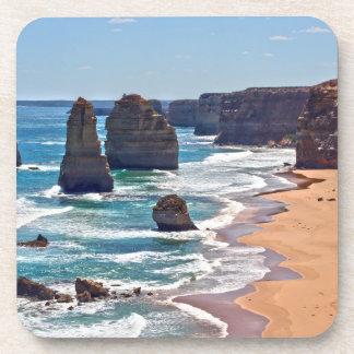 Los doce apóstoles, Victoria, Australia Posavasos De Bebida