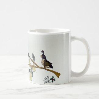 Los doce días de navidad taza de café
