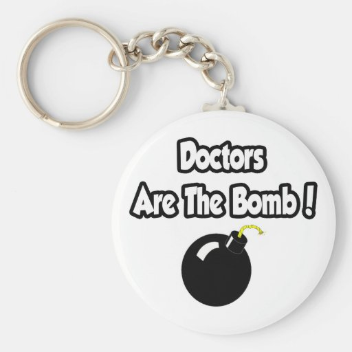 ¡Los doctores Are The Bomb! Llaveros Personalizados