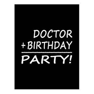 Los doctores Birthdays: Doctor + Cumpleaños = Tarjeta Postal