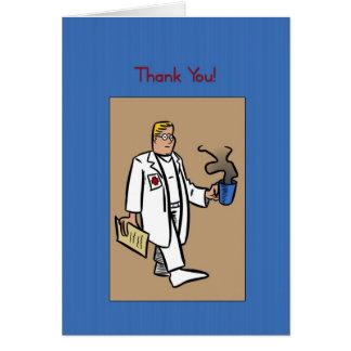 Los doctores Day Card Felicitacion