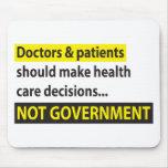 Los doctores Not Government Alfombrilla De Ratones