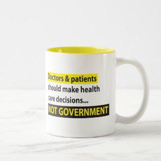 Los doctores Not Government Taza De Café