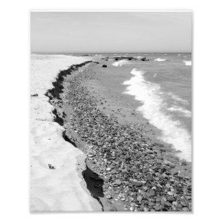 Los doctores Park Beach, el lago Michigan, Milwauk Fotografía