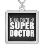 Los doctores Parties: Doctor estupendo certificado Colgante Cuadrado