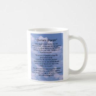 Los doctores Prayer Mug Tazas De Café