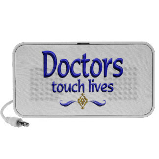 Los doctores Touch Lives Mini Altavoces