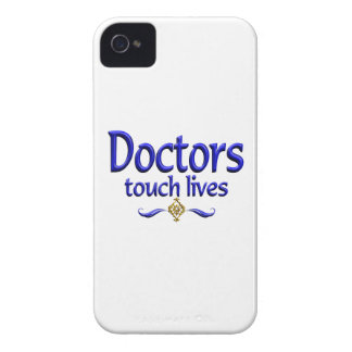 Los doctores Touch Lives iPhone 4 Funda