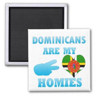 Los Dominicans son mi Homies Imán De Nevera