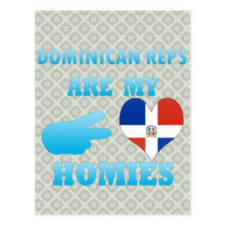 Los Dominicans son mi Homies Postales