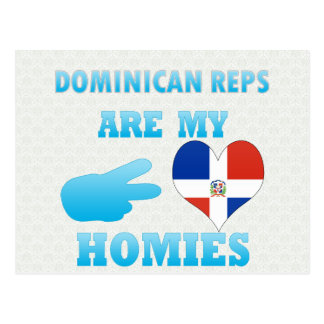 Los Dominicans son mi Homies Postal