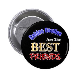 Los Doodles de oro son el botón de los mejores ami Pins