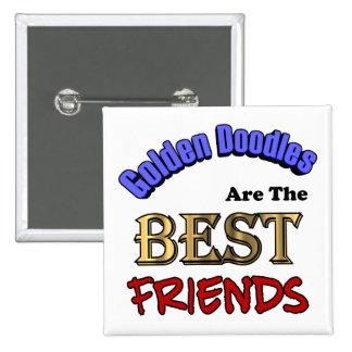 Los Doodles de oro son el botón de los mejores ami Pin
