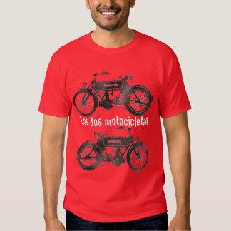 los dos motocicletas tshirt