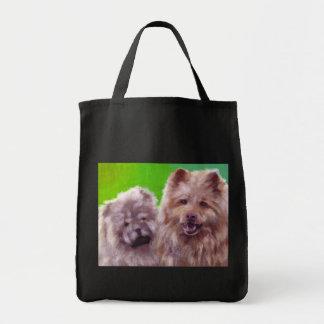 Los dos perros de Hester Bolsa Tela Para La Compra