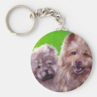 Los dos perros de Hester Llavero Redondo Tipo Pin