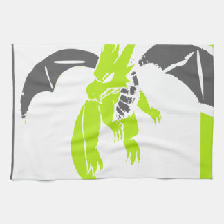 Los dragones del mascota son frescos toallas