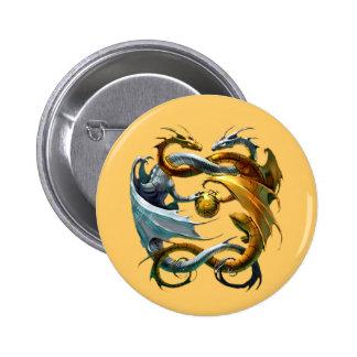 Los dragones juegan al globo - pins