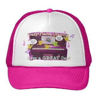 Los dragones locos del piano dicen tienen un gran  gorras de camionero
