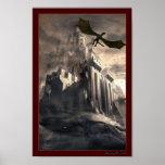 Los dragones se dirigen posters