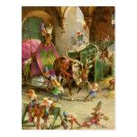 Los duendes de Papá Noel en su taller de Polo Postal