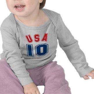 Los E E U U 10 Camiseta