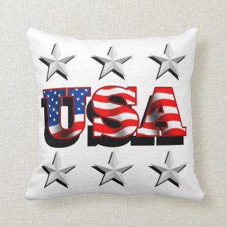 Los E.E.U.U. 1 con la almohada de tiro de las