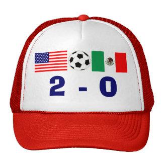 Los E.E.U.U. 2, México 0 Gorras De Camionero