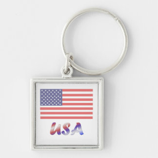 Los E.E.U.U. (3) Llavero Personalizado