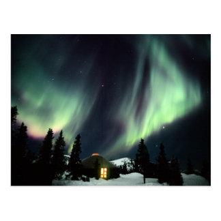 Los E.E.U.U., Alaska, aguas termales de Chena. Aur Postal