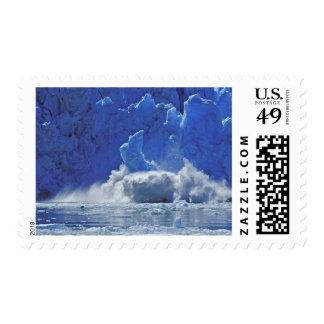 Los E.E.U.U., Alaska, Juneau. Parte del aserrador Sello Postal